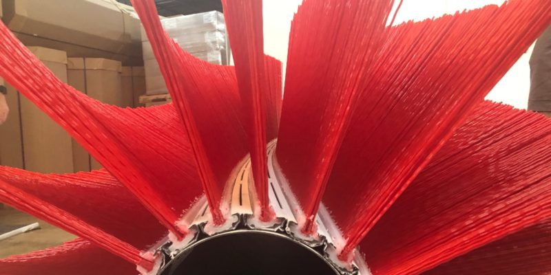 All Pro Strip Broom_Red