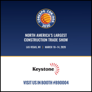 Keystone Booth #B90004 for CONEXPO